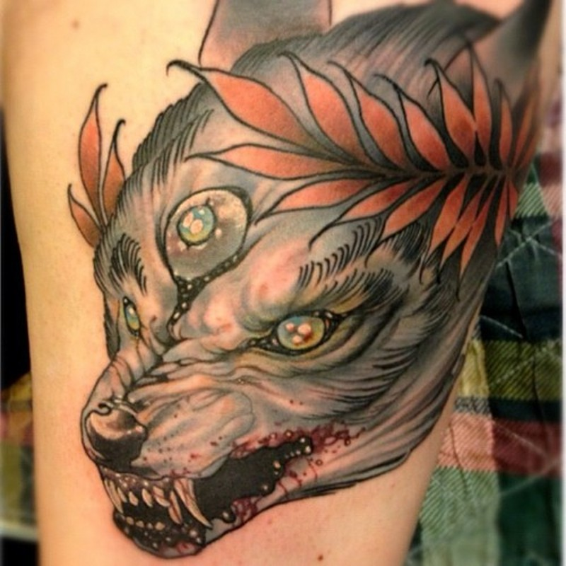 Good Wolf Bad Wolf Tattoo 43051 Usbdata