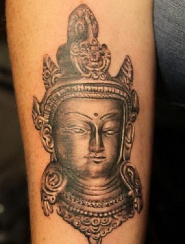 3D pietra dudda tatuaggio disegno per uomo