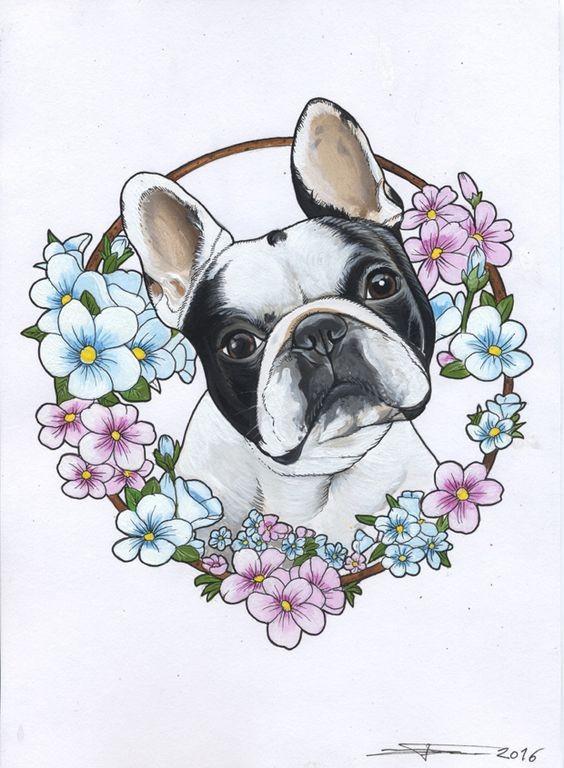 Bulldog tattoo designs - Page 3 - Tattooimages.biz