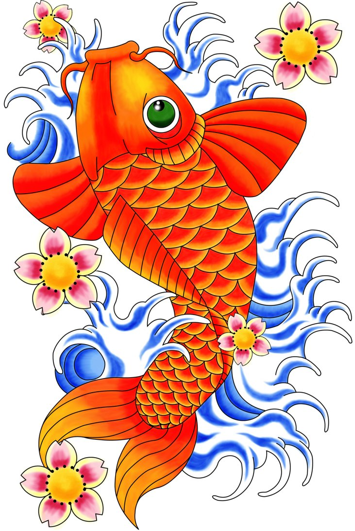 Koi fish tattoo designs - Page 3 - Tattooimages.biz