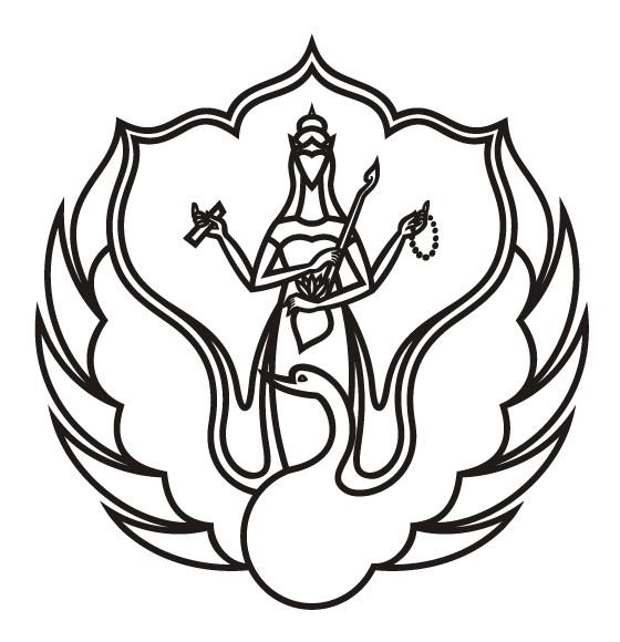 Charming outline goddess and big swan tattoo design