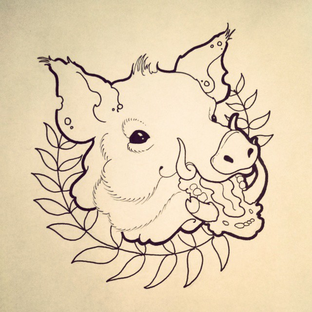 Pig tattoo designs - Page 4 - Tattooimages.biz