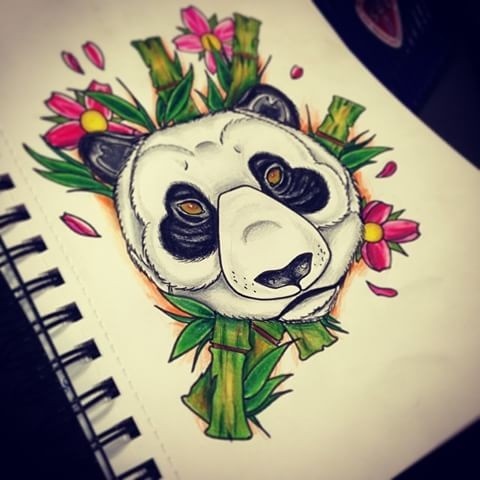 Panda Tattoo Designs Page 4 Tattooimages Biz