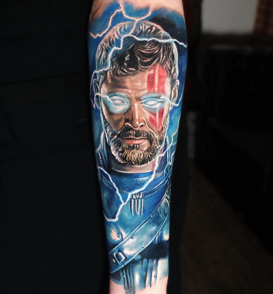 Cool THOR tattoo on wrist