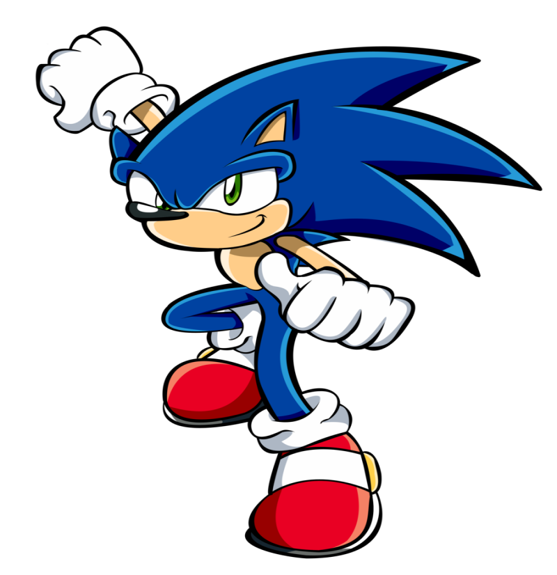 Cool Colored Sonic The Hedgehog Ready To Fight Tattoo Design By Hawke525 Tattooimages Biz