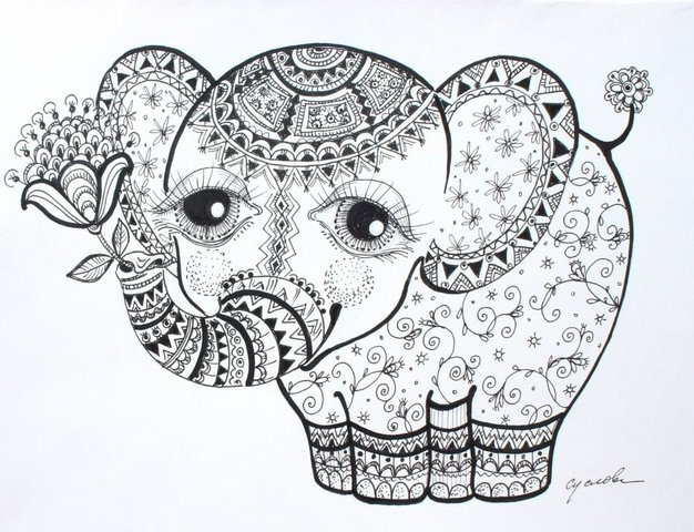 Baby Elephant Coloring Pages Trendy African Elephant Eating Grass