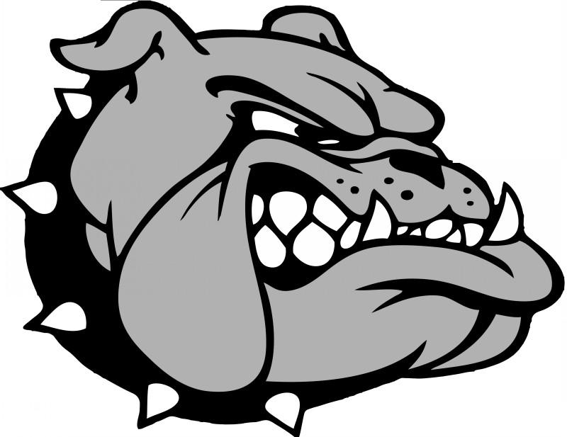 Evil Animated Grey Bulldog Tattoo Design Tattooimages Biz