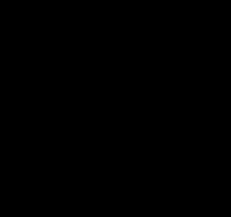 Evil black-ink dragon emblem in tribal style tattoo design