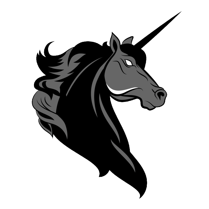 Evil Unicorn | Fantasy Desktop HD Wallpaper