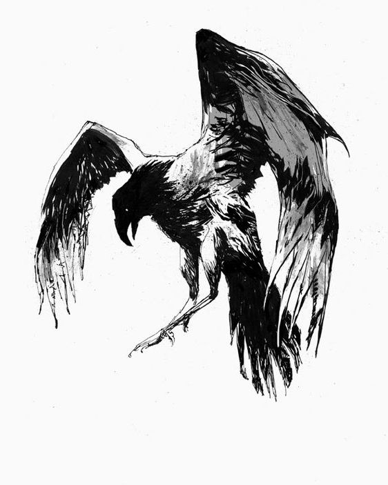Fantastic Dark Flying Eagle Tattoo Design Tattooimages Biz