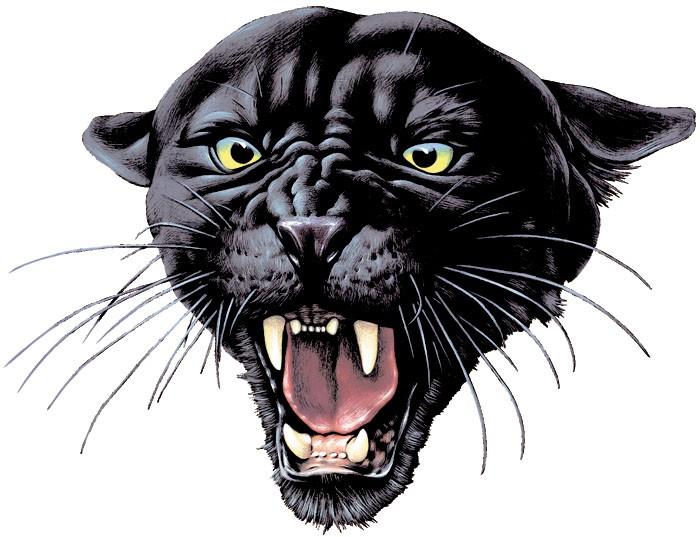 Gorgeous Black Roaring Panther Tattoo Design Tattooimages Biz