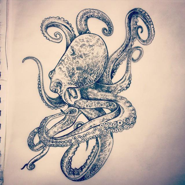Octopus tattoo tumblr - photo#48