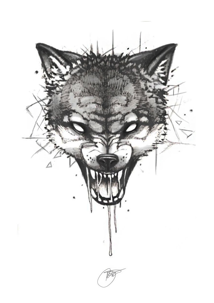 wolf tattoo designs