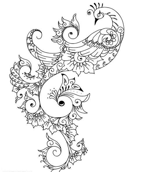 Peacock Feather Design Pdf