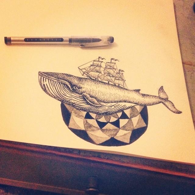 Ship Tattoo Designs
