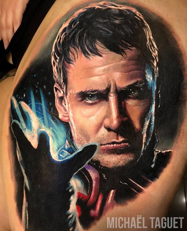 Realistic Magneto tattoo3