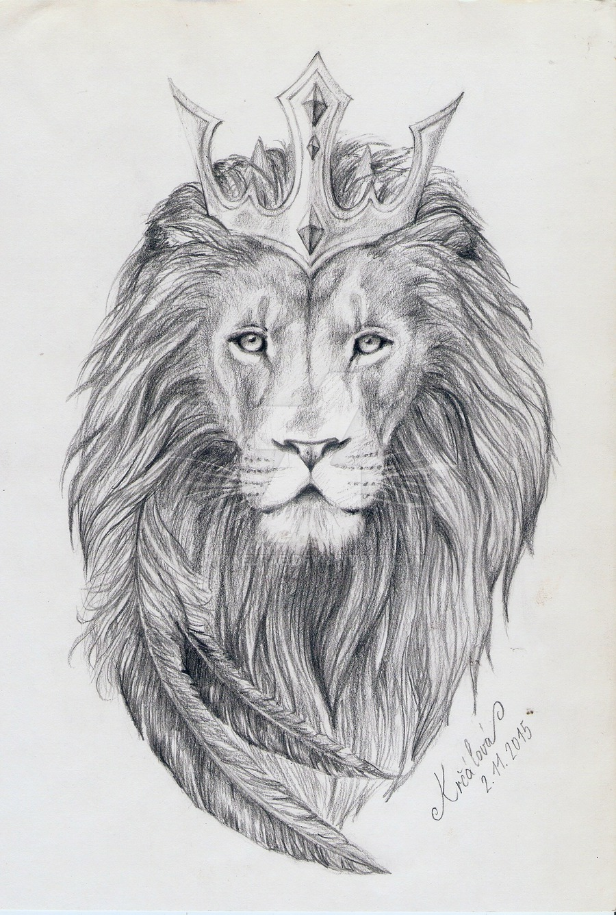 Realistic Lion King In Crown Tattoo Design By Miraelfae Tattooimages Biz Register for free and download the full pack. realistic lion king in crown tattoo