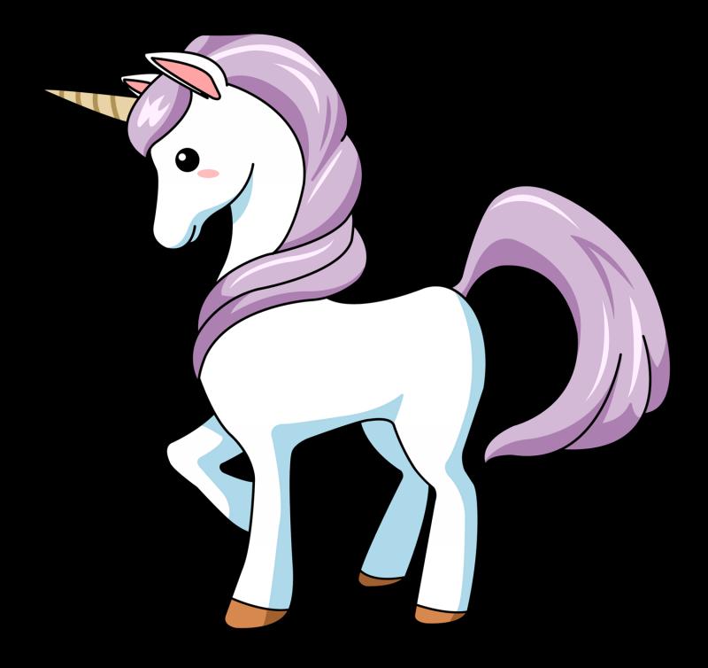 animated unicorn clipart - photo #15