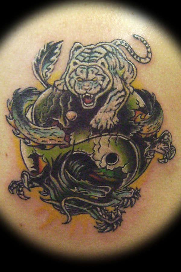 Tiger And Dragon Tattooimages Biz