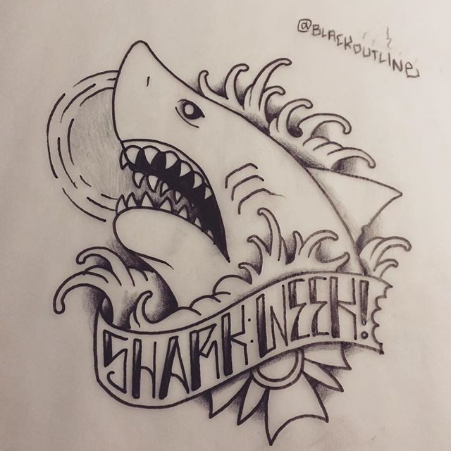 Traditional shark tattoo designs - photo#10