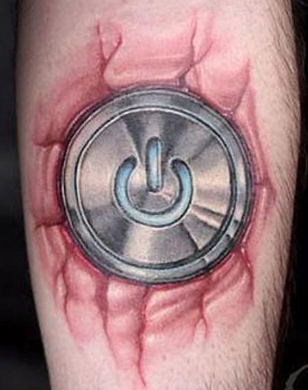 potenza aggressiva simbolo disadattato tatuaggio