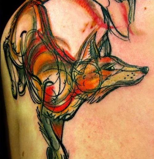 eccezionale volpe rossa da Kel Tait