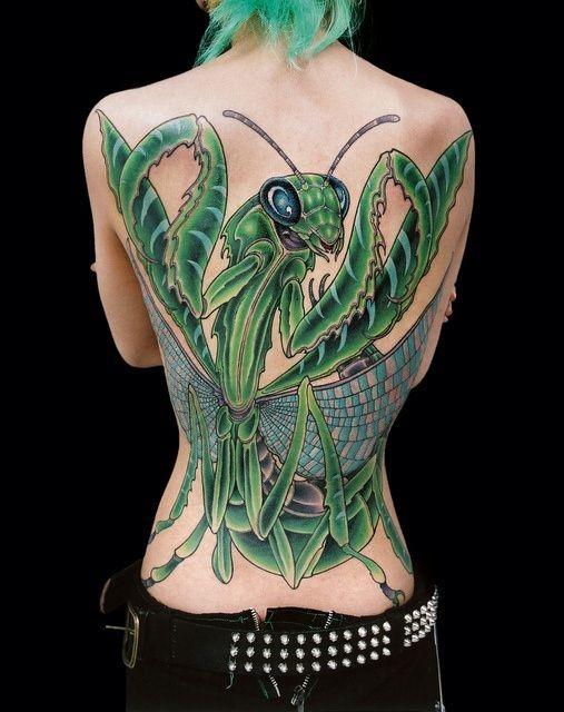 praying mantis tattoo ideas