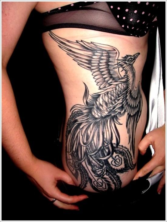 Tatuaggio fantastico sulla l&quotuccello