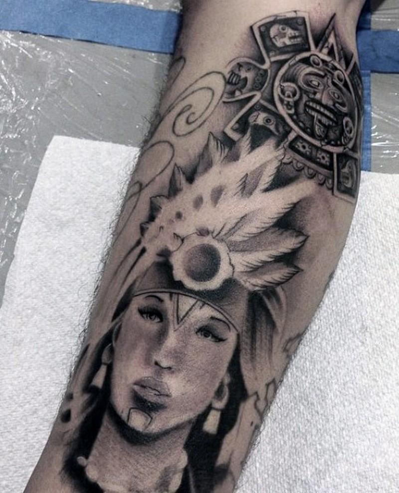 Aztec Temple Tattoo tribal tattoos - page 5 - tattooimages.biz