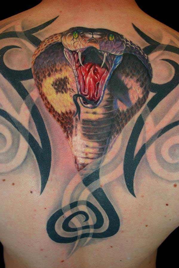 Schlange tattoo 3d