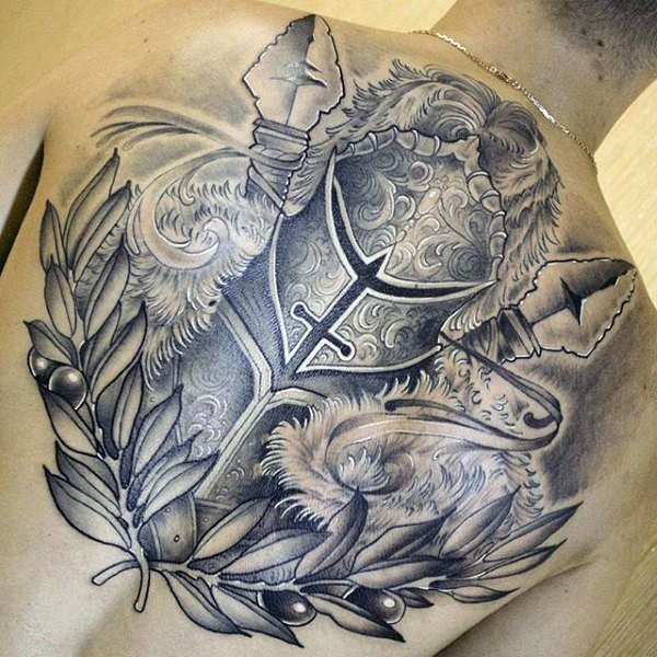 Awesome medieval images part 2 for Medieval armor tattoo