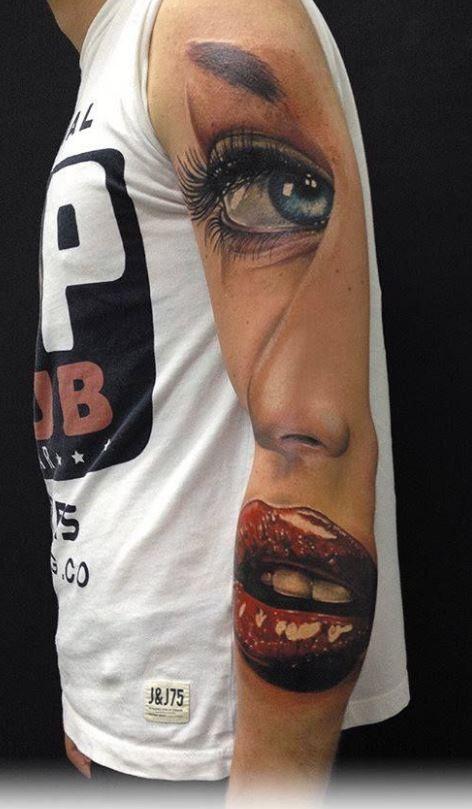 fresca idea di ragazza tatuaggio avambraccio