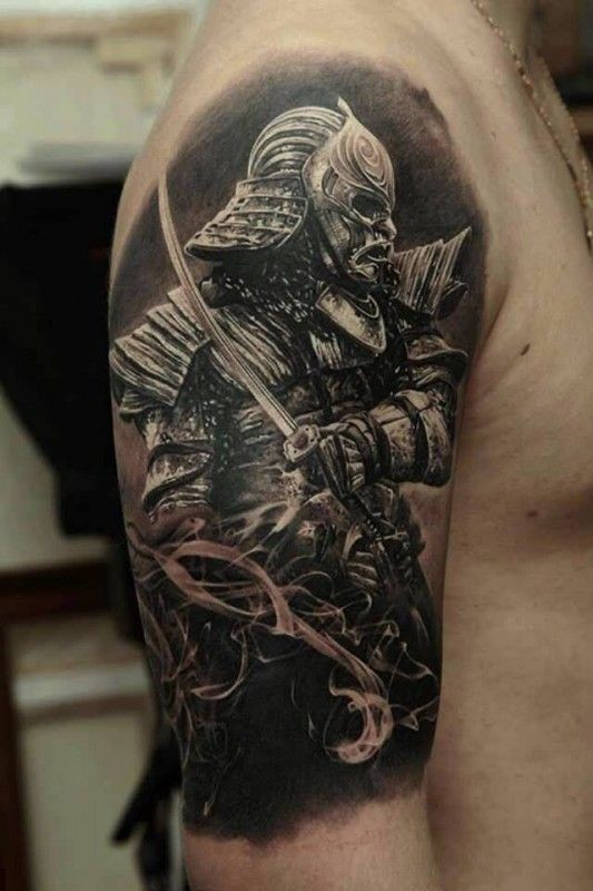 Awesome warrior images part 2 for Cool japanese tattoos
