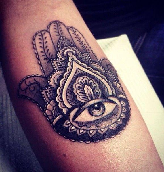 eye in center of ornament tattoo. Black Bedroom Furniture Sets. Home Design Ideas
