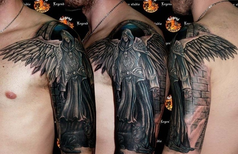 Angel Tattoos Images Tattooimagesbiz