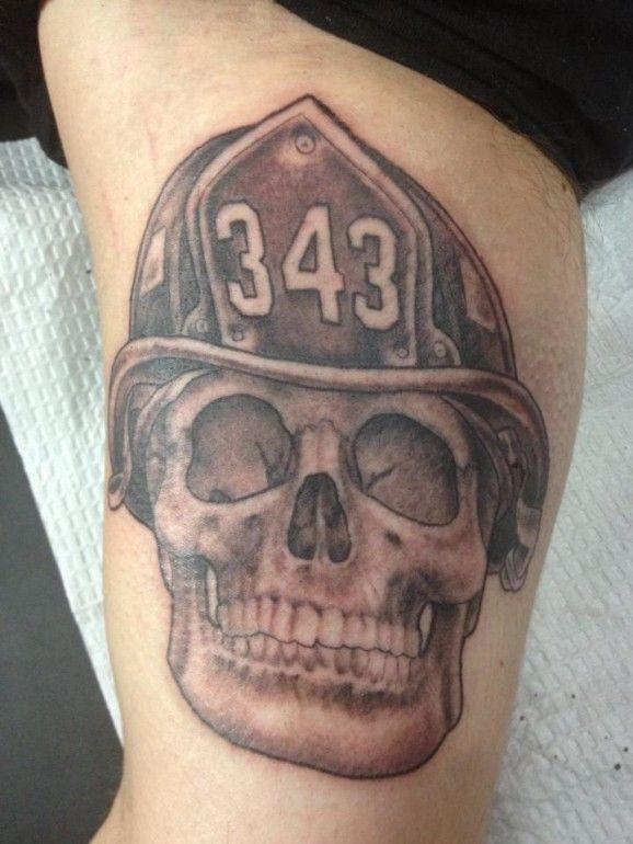 Firefighter Memorial Tattoo On Arm Tattooimagesz