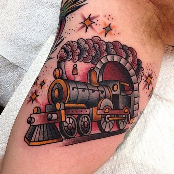 Great funny pictures for Sparkling star tattoo