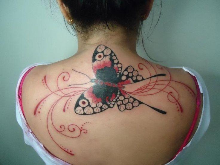 Great butterfly tattoo
