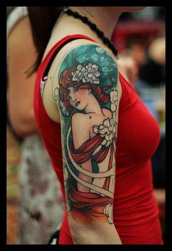 Schulter frau schöne tattoos Tattoo
