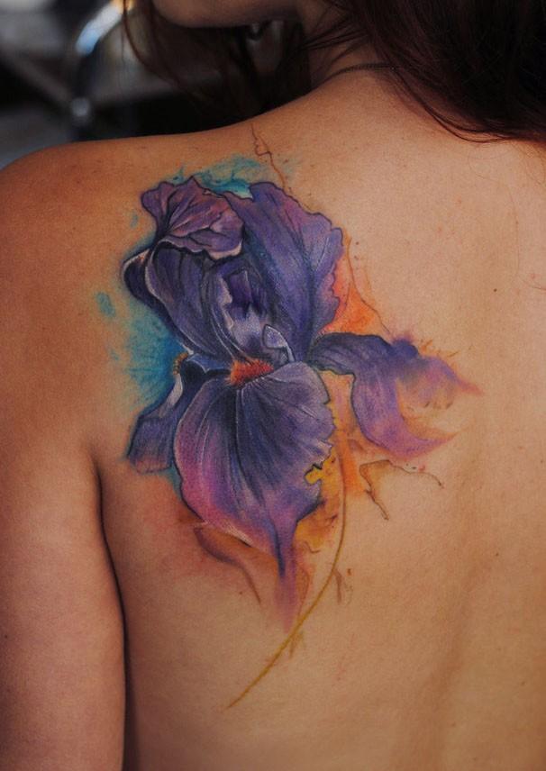 Iris Tatouage iris le tatouage aquarelle par dopeindulgence - tattooimages.biz