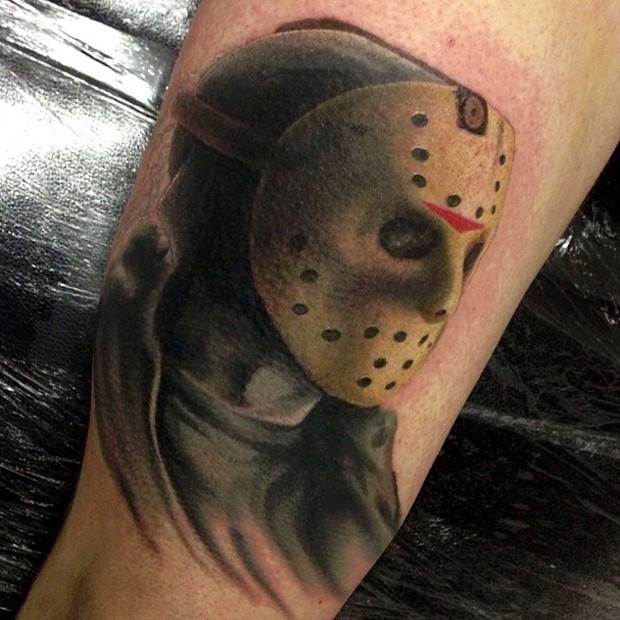 Jason friday the 13 movie horror tattoo
