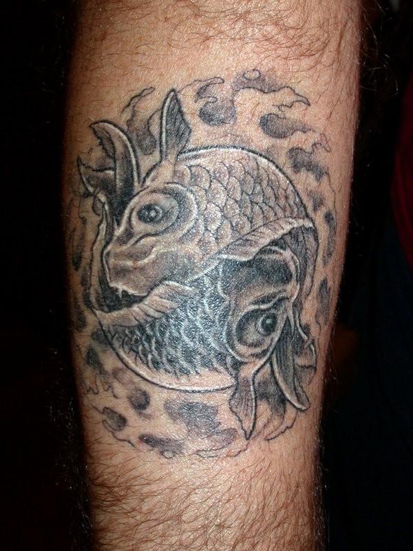 Koi fish tattoo by fpista