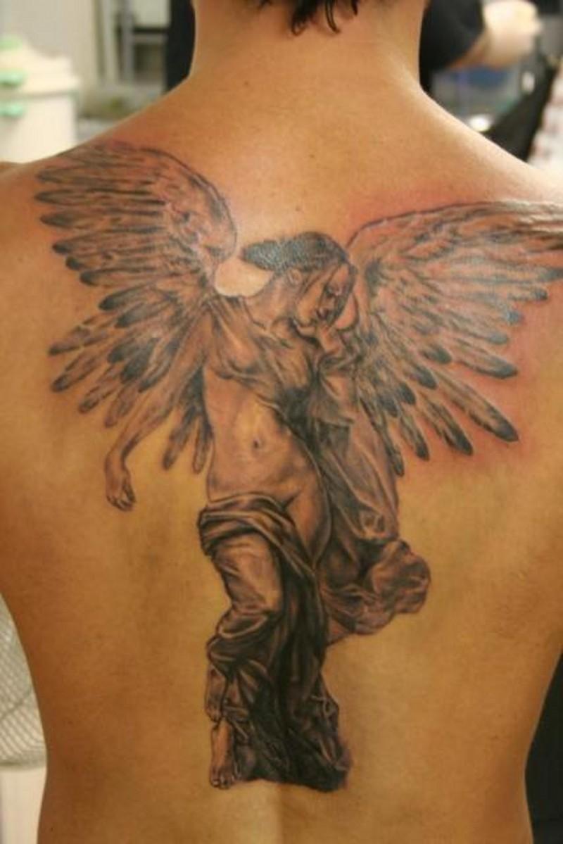 Rücken tattoo engel ▷ 1001