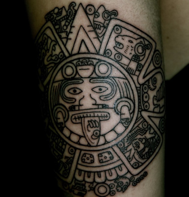 Aztec Chameleon Tattoo: Nice Tribal Gallery