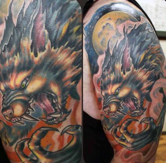 Cool moon disign - Part 3 - Tattooimages.biz