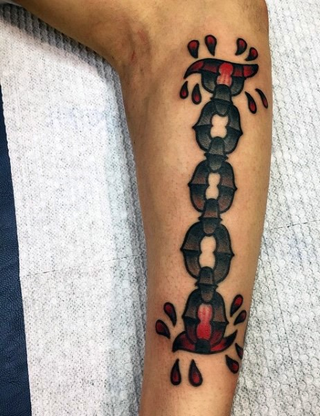 Great chain pictures for Tattoos on old skin