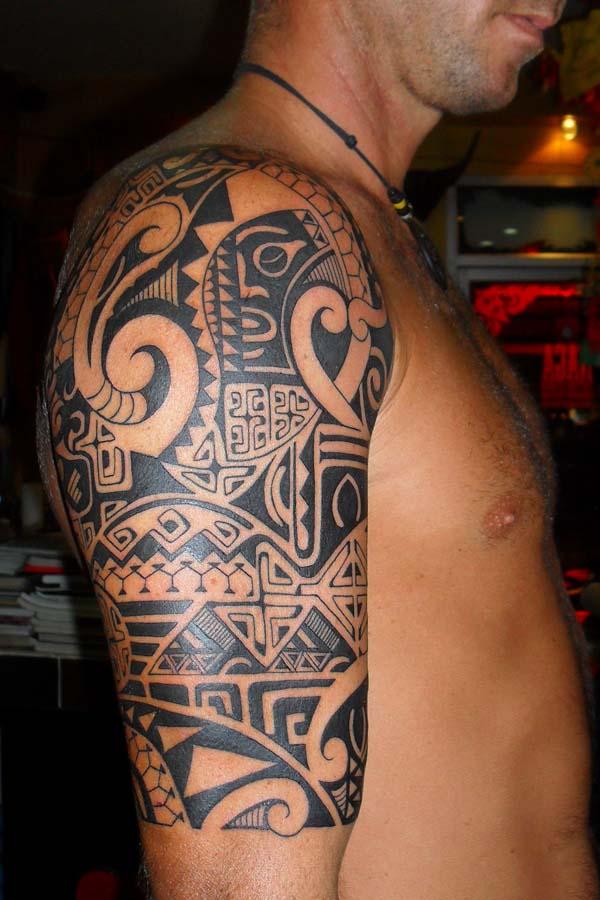 Polynesian tattoo image
