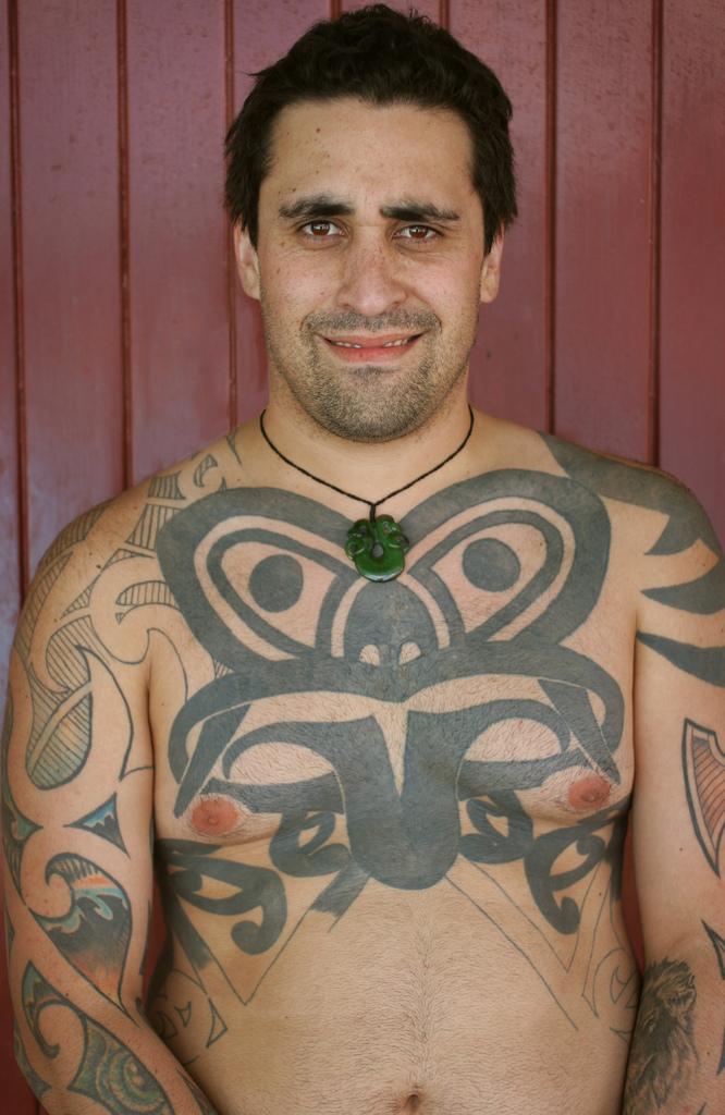 Polynesian tattoo maori image