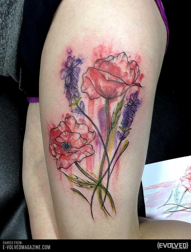 Super Red Set Part 5 Tattooimages Biz