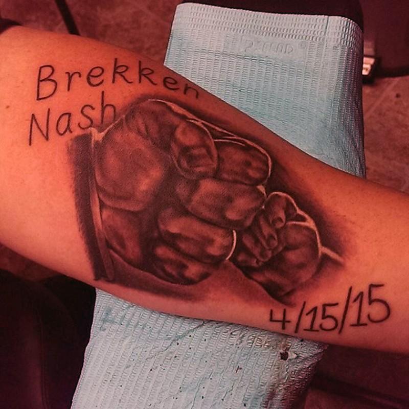 Cool memorial design part 3 for Father son memorial tattoos